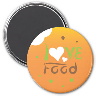 Love food magnet design