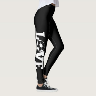 LOVE FOOTBALL LEGGINGS