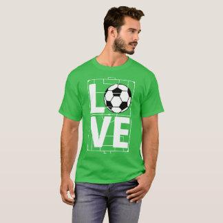 Love Football Soccer T-Shirt