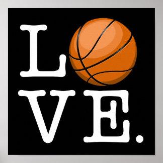 Love for Basketball Poster