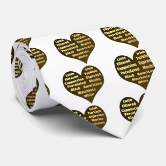 Love for Coffee Tie