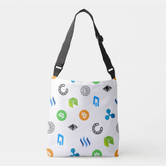 Love for Cryptocurrency Cross Body Bag