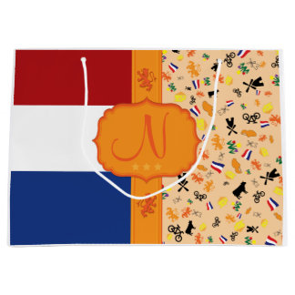 Love for Holland - Monogram Large Gift Bag