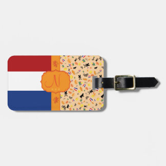 Love for Holland - Monogram Luggage Tag