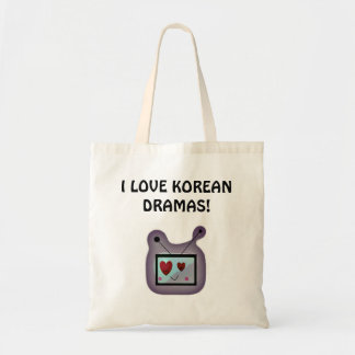 Love for Korean Dramas Tote Bag