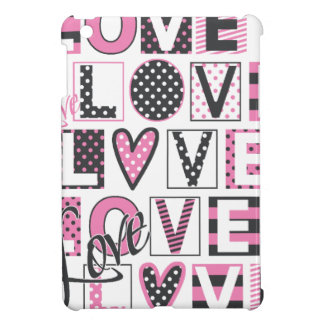 love for love vintage design iPad mini covers