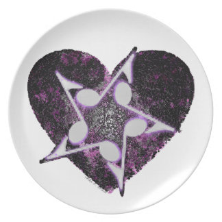 Love for Music! Plates