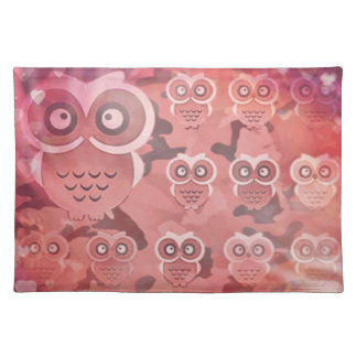 Love for Owls Placemat