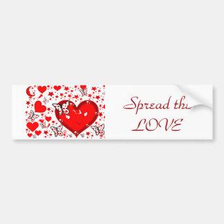 Love,Forever & Always_ Bumper Sticker