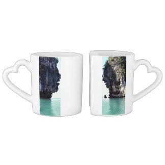 love forever coffee mug set