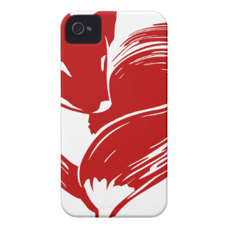 Love Foxes Case-Mate iPhone 4 Case