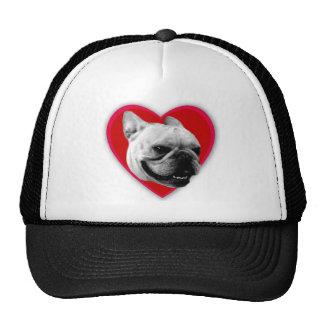 Love French Bulldog Baseball cap Mesh Hat