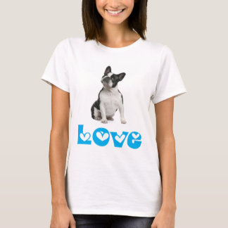 Love French Bulldog Puppy Dog T-Shirt