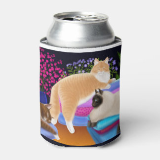 Love Freshly Folded Laundry Can Cooler