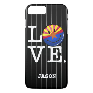 Love From Arizona Smiling Flag iPhone 7 Plus Case