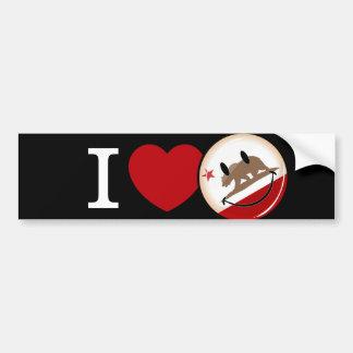 Love from California Bumper Sticker