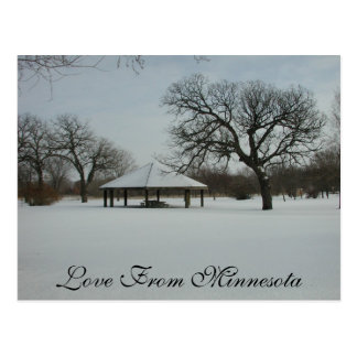 Love From Minnesota Post Cards