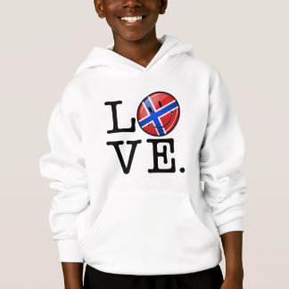 Love From Norway Smiling Flag
