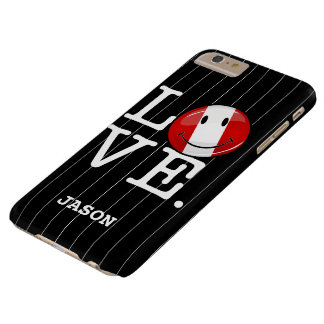 Love From Peru Smiling Peruvian Flag Barely There iPhone 6 Plus Case