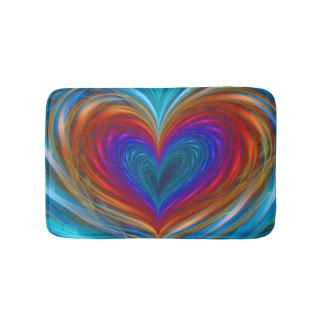 Love Full Of Color Bath Mat