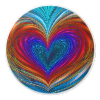 Love Full Of Color Ceramic Knob