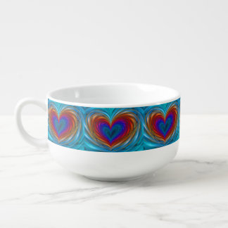 Love Full Of Color Soup Mug