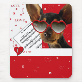 Love Fun Valentine s Day Gift Mousepad Mouse Pad