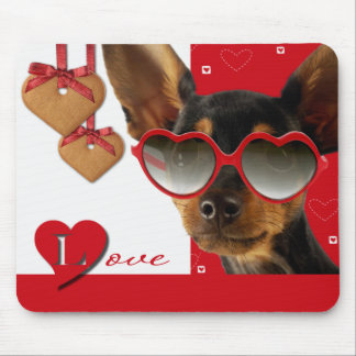 Love Fun Valentine s Day Gift Mousepad Mouse Pads