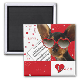 Love. Fun Valentine's Day Gift Magnet Refrigerator Magnets
