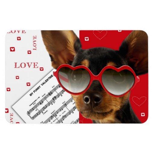 Love. Fun Valentine's Day Gift Magnet Vinyl Magnet