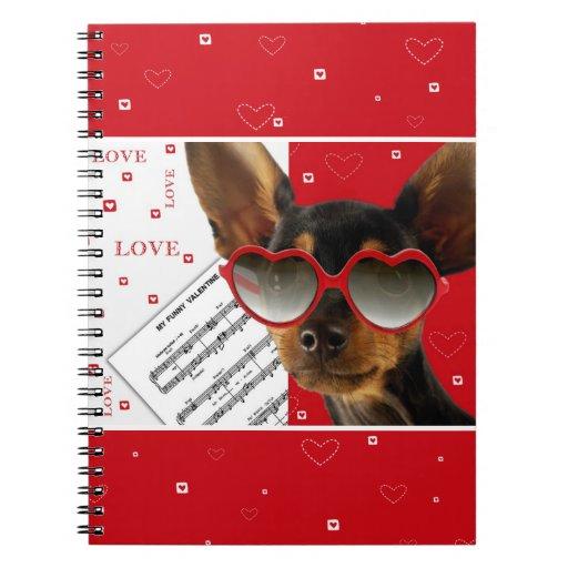 Love. Fun Valentine's Day Gift Notebook Note Books