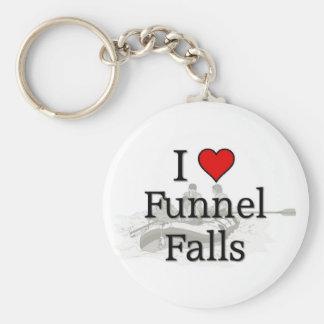 Love Funnel Falls Key Ring