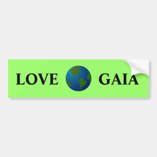 Love Gaia Bumper Sticker