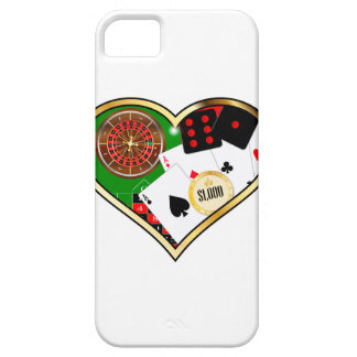 Love Gambling Barely There iPhone 5 Case