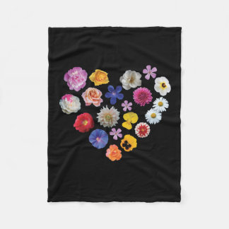 Love Garden Fleece Blanket
