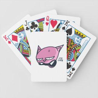 Love gata bicycle playing cards