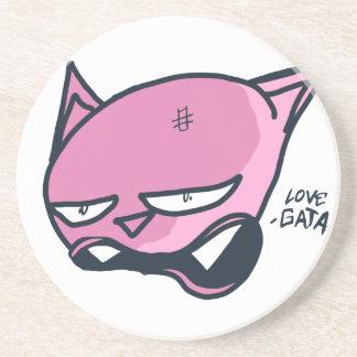 Love gata coaster