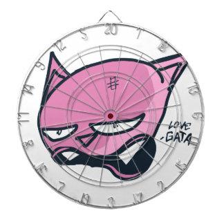 Love gata dartboard