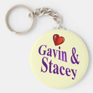 Love Gavin and Stacey Key Ring
