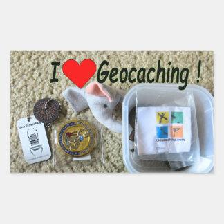 Love geocaching sticker