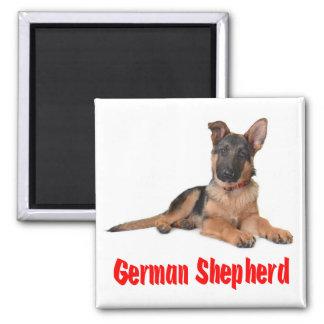 Love German Shepherd Puppy Dog Fridge Magnet