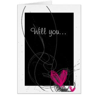 Love girlfriend card