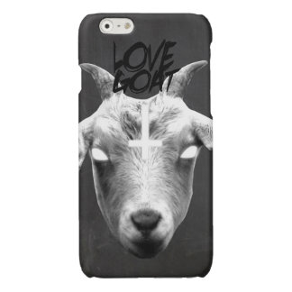Love goat glossy iPhone 6 case