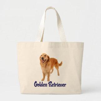 Love Golden Retriever Puppy Dog Tote Bag