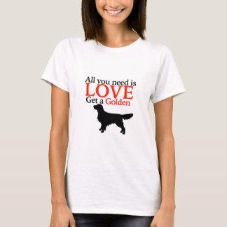 Love Golden T-Shirt