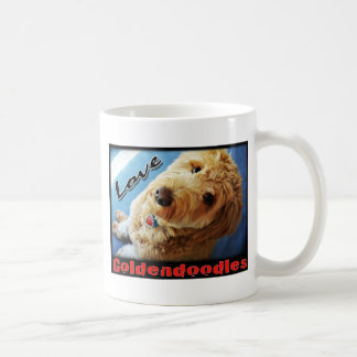 Love Goldendoodles Coffee Mug