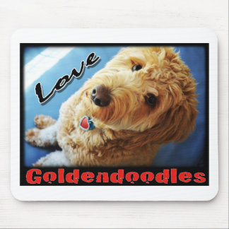 Love Goldendoodles Mouse Pad