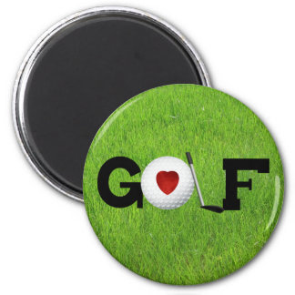 Love Golf Magnet