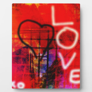 Love Graffiti Plaque