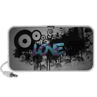 LOVE Graffiti iPhone Speaker